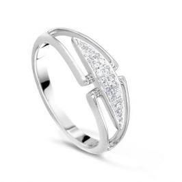 Кольцо с бриллиантами из белого золота VALTERA 41072