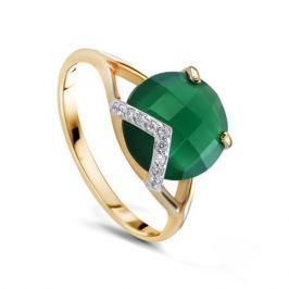 Кольцо из розового золота 58932