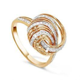 Кольцо с бриллиантами из розового золота VALTERA 43925
