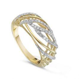 Кольцо с бриллиантами из желтого золота VALTERA 73943