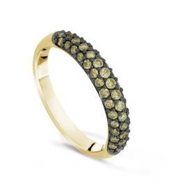 Кольцо с бриллиантами из желтого золота VALTERA 36137