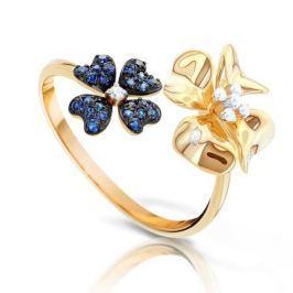 Кольцо из розового золота 90436