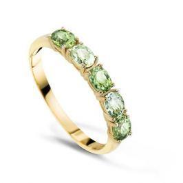 Кольцо с полудрагоценными камнями из желтого золота VALTERA 55695