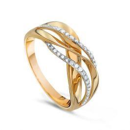 Кольцо с бриллиантами из желтого золота VALTERA 65917
