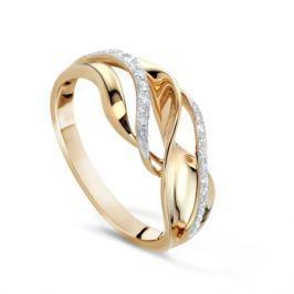 Кольцо с бриллиантами из желтого золота VALTERA 65898