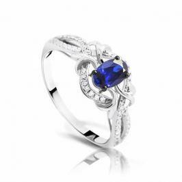 Кольцо с сапфирами и бриллиантами из белого золота VALTERA 92449