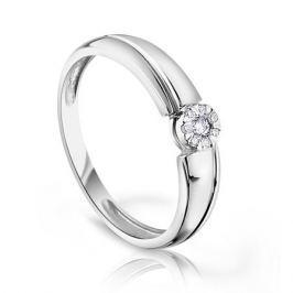 Кольцо с бриллиантами из белого золота VALTERA 97149