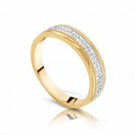 Кольцо с бриллиантами из розового золота VALTERA 103312