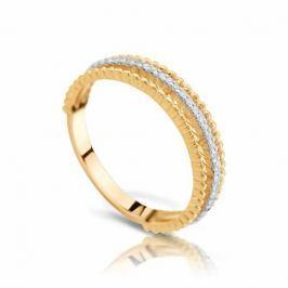 Кольцо с бриллиантами из розового золота VALTERA 103493