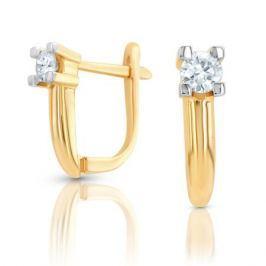 Серьги с бриллиантами из розового золота VALTERA 97560