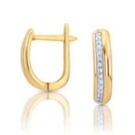 Серьги с бриллиантами из розового золота VALTERA 103309