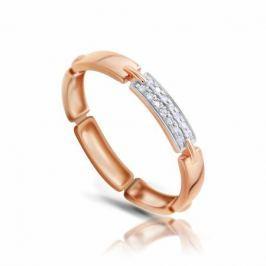 Кольцо с бриллиантами из розового золота VALTERA 103750
