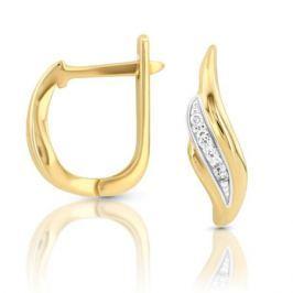 Серьги с бриллиантами из розового золота VALTERA 100435