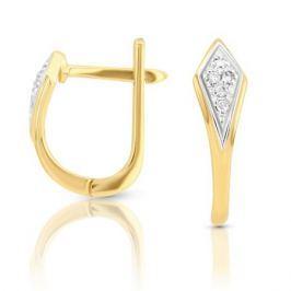 Серьги с бриллиантами из розового золота VALTERA 100434