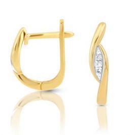 Серьги с бриллиантами из розового золота VALTERA 100433