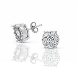 Серьги из серебра 103752