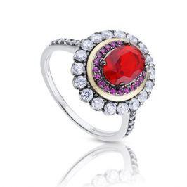 Кольцо из серебра VALTERA 105928