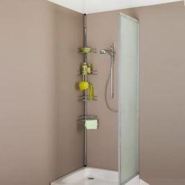 Этажерка угловая раздвижная для ванны или душа