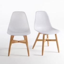 Комплект из 2 стульев для сада с сиденьем в форме раковины, Jimi