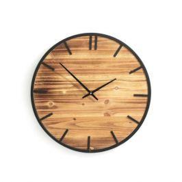 Часы XL из дерева и металла, CAMPANILA