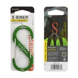 Карабин Nite Ize Nite Ize S-Biner® Dual №4 светло-зеленый 4