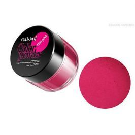 ruNail, Цветная акриловая пудра (ярко-розовая, Pure Hot Pink), 7,5 гр