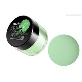ruNail, Цветная акриловая пудра (пастельный тон, зеленая, Pastel Green), 7,5 гр