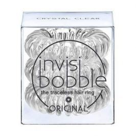 Invisibobble, Резинка для волос Original Crystal Clear (3 шт.), прозрачная