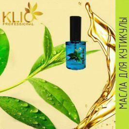 Klio Professional, Масло для кутикулы Oil Tea tree, 15 мл