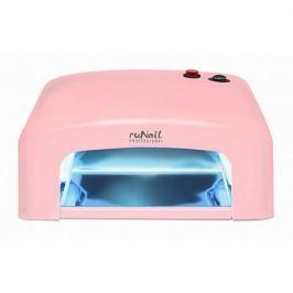ruNail, Лампа UV, модель GL-515, 36W, розовая (электронная)