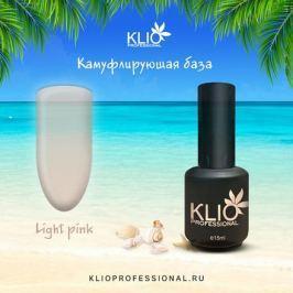 Klio Professional, Камуфлирующая база Light pink