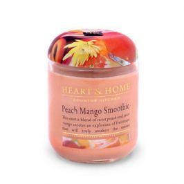 Heart&Home, Свеча «Смузи персик-манго», маленькая, 110 г