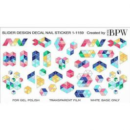 BPW.Style, Слайдер-дизайн «Цветная геометрия» №1-1159