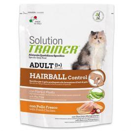 Корм для кошек TRAINER Solution Hairball для выведения шерсти сух. 300г