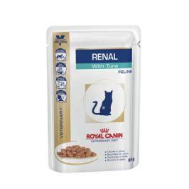 Корм для кошек ROYAL CANIN (Роял Канин) Vet Diet Renal при почечной недостаточности тунец конс. 100г
