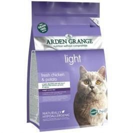 Корм для кошек ARDEN GRANGE диетический беззерновой сух. 400г