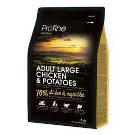 Корм для собак PROFINE для крупных пород курица, картофель сух. 3кг