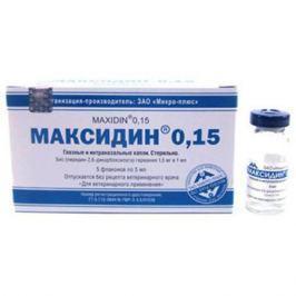МИКРО-ПЛЮС МАКСИДИН глазные капли, 0,15%, 5мл