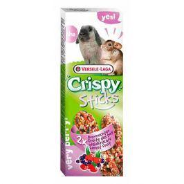 Лакомство для грызунов VERSELE-LAGA Crispy палочки для кроликов и шиншилл с лесными ягодами 2х55г