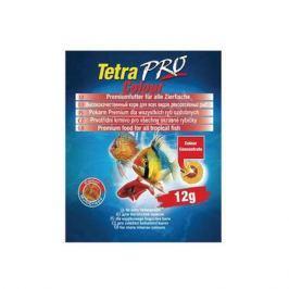 Корм для рыб TETRA PRO Colour корм-чипсы для улуч.окраска декорат. рыб 12г