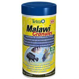 Корм для рыб TETRA Malawi Granules для растительноядных рыб с водорослями, гранулы 250мл
