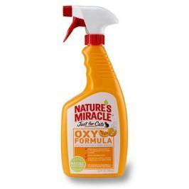 8 IN 1 NATURES MIRACLE Уничтожитель запаха кошачьих меток и мочи Оранж-Окси спрей 709мл