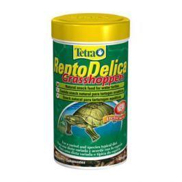Корм для черепах TETRA ReptoDelica Grasshopers лакомство для водных черепах кузнечики 250мл