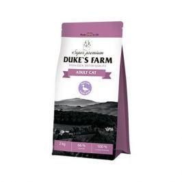 Корм для кошек DUKE'S FARM утка сух. 2кг