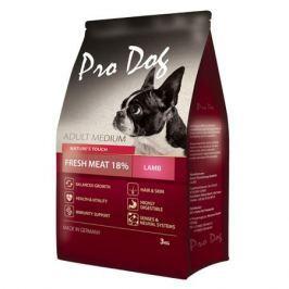 Корм для собак PRO DOG для средних пород с ягненком сух. 3кг