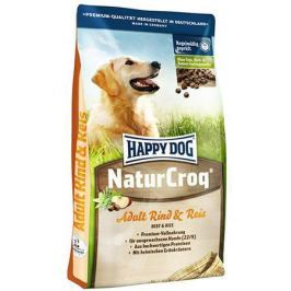 Корм для собак HAPPY DOG Natur Croq говядина, рис сух.15кг