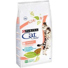 Корм для кошек CAT CHOW с чувствительным пищеварением сух. 15кг
