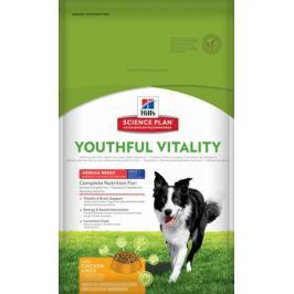 Корм для собак HILL'S Youthful Vitality для пожилых собак средних пород, Курица сух. 10кг