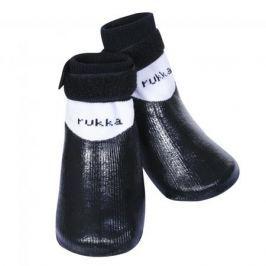 Носки для собак RUKKA Pets Rukka Rubber Socks р.4 (4шт) Чёрный
