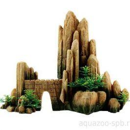 Грот для аквариумов ARTUNIQ Замок в скале, 42x14x33см
